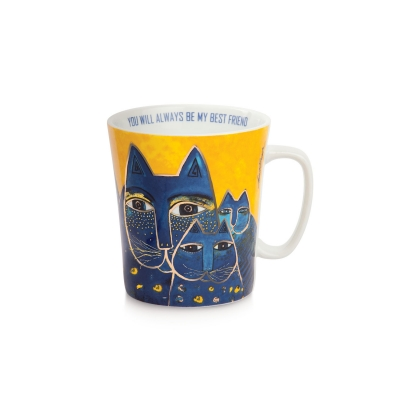 Mug Laurel Burch Giallo