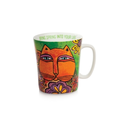 Mug Laurel Burch Verde