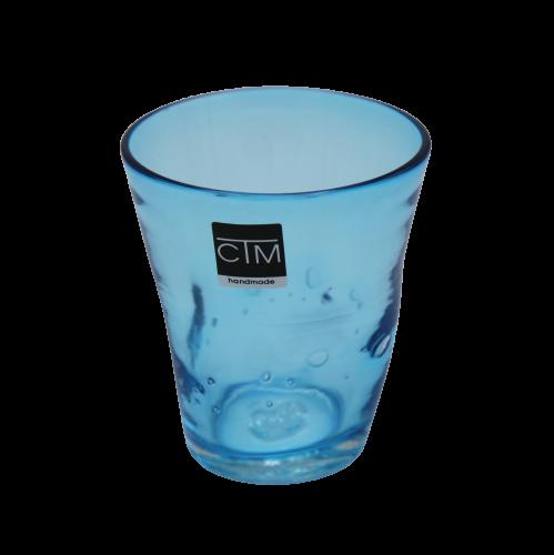 Samoa Acqua  Azzurro By Ctm H 10cm  310ml dia 9cm