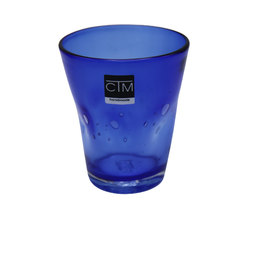 Samoa Acqua  Blu By Ctm H 10cm  310ml dia 9cm