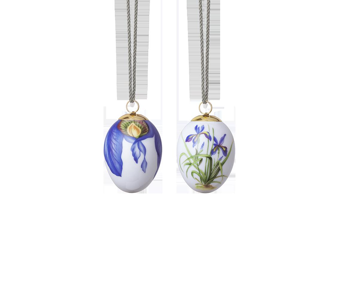 Collezione Royal Copenhagen Pasqua 2021  2Pz -Iris&Petali Iris
