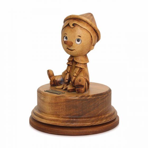 Carillon Girevole Pinocchio By Bartolucci