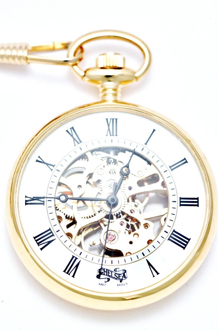 Orologio Tasca Ottone D4