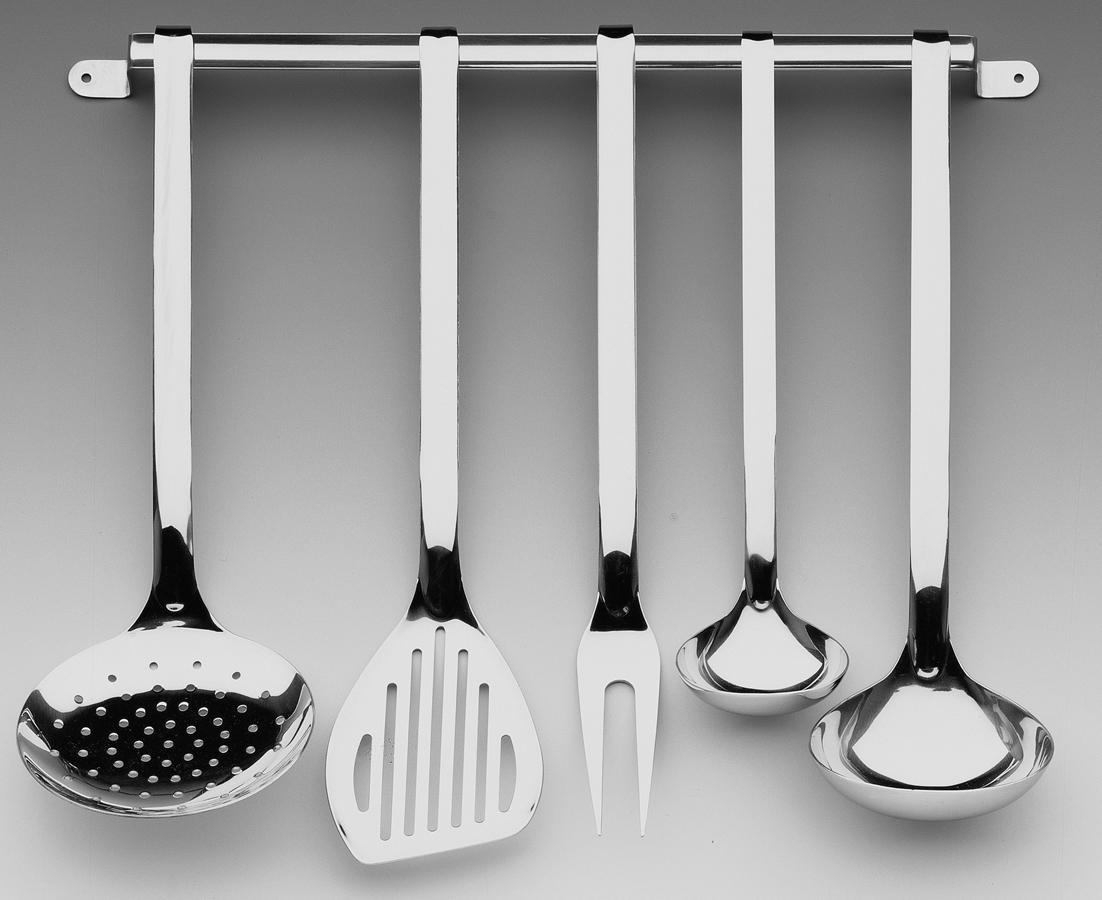 Set mestoli acciaio 6 pz practico for Set mestoli cucina