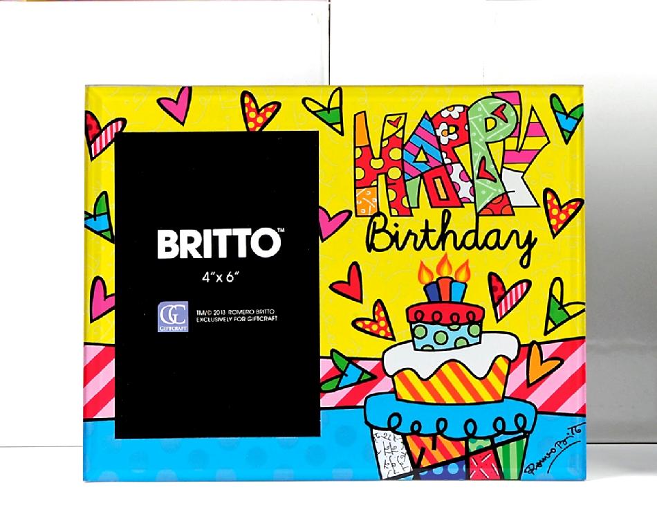 Cornice Portafoto Happy Birthday