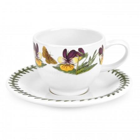 Tazza Caffe Coupe B. Garden Viola Tricolor