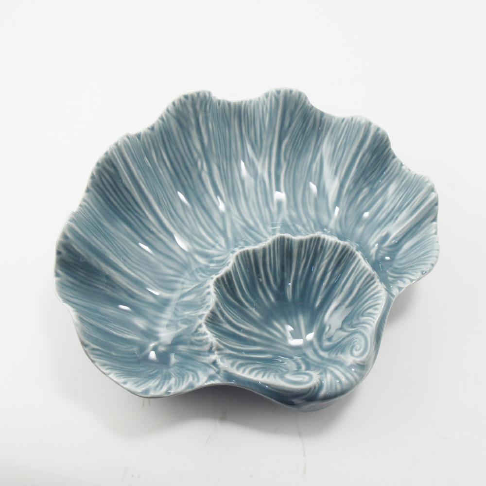 Antipastiera Colore Blu Cm 28X25