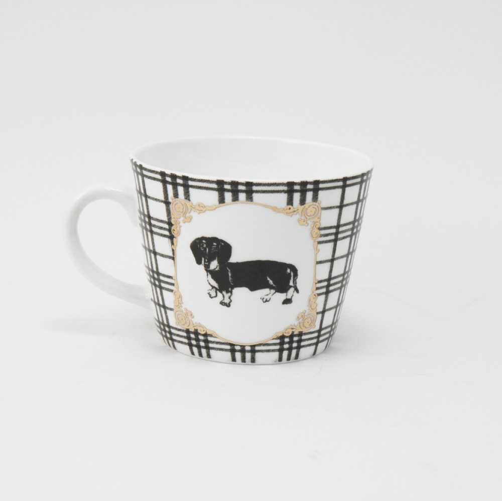 Mug Bone China Bassotto