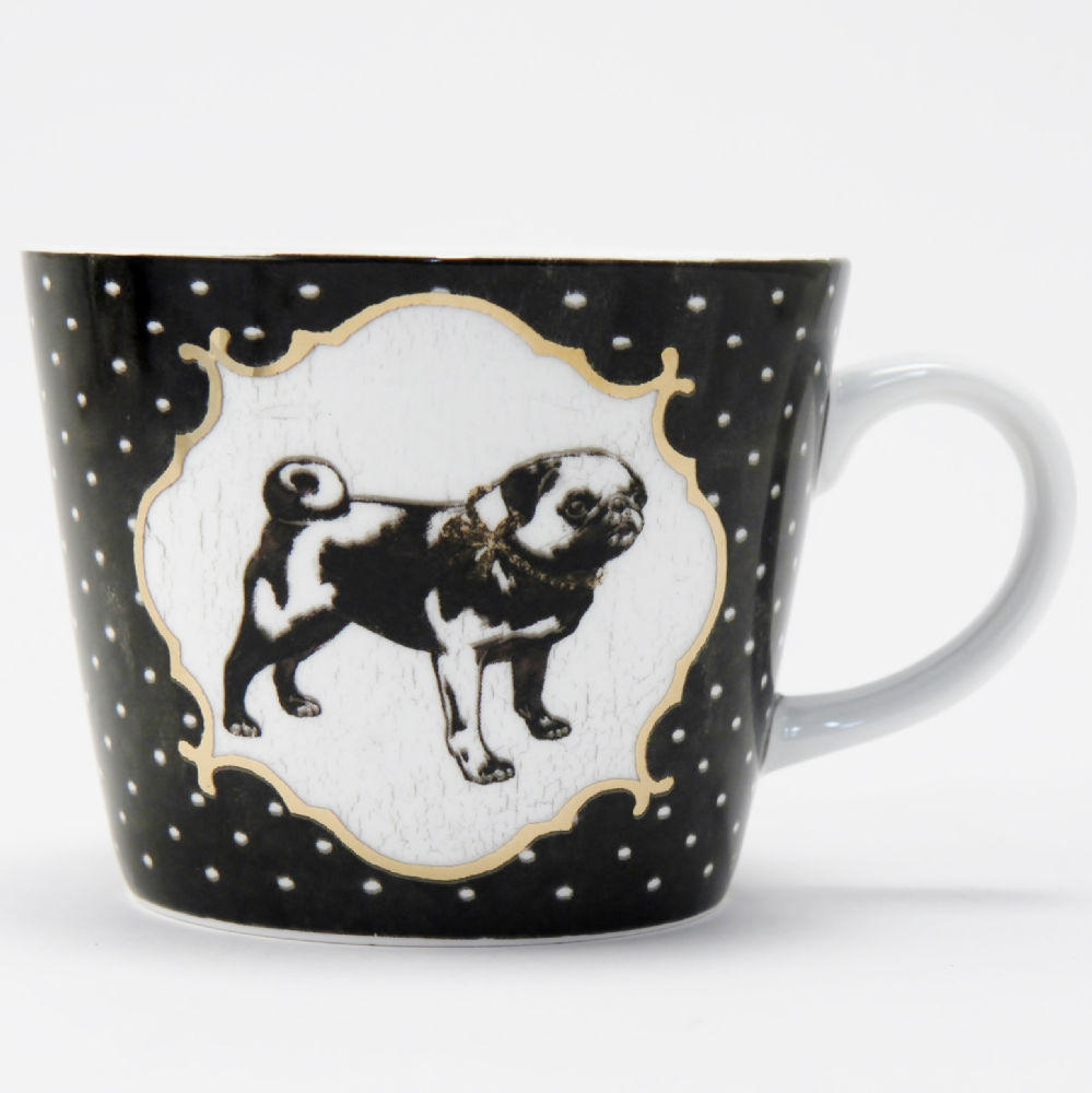 Mug Bone China Carlino