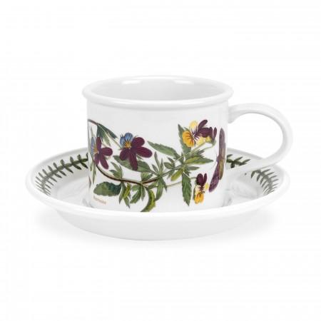 Tazzina Caffè Cilindrica B. Garden Lt0,10 Viola Tricolor