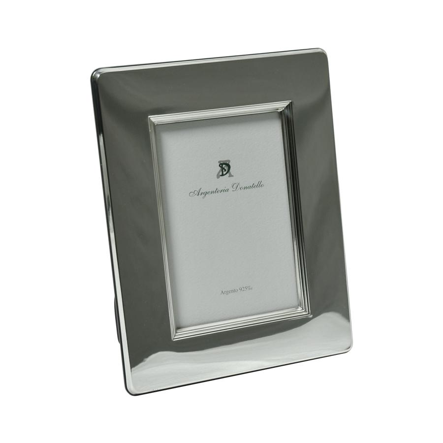 cornice 10x15 liscia argento 925