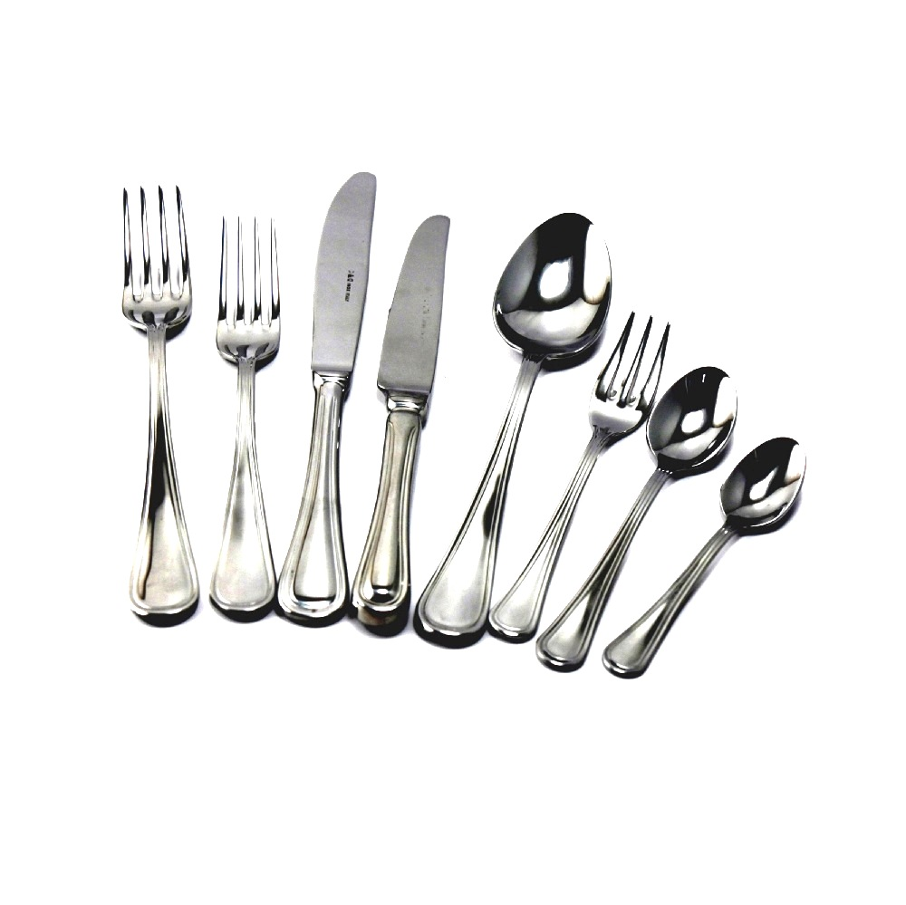 set Posate Acciao Inox 18/10 100pz