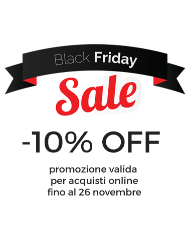 Speciale Black Friday : -10% OFF!