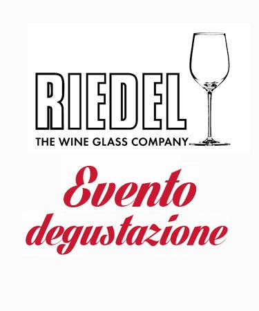 Evento degustazione Riedel 2018