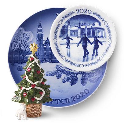 Prenota piatti Royal Copenhagen di Natale 2020